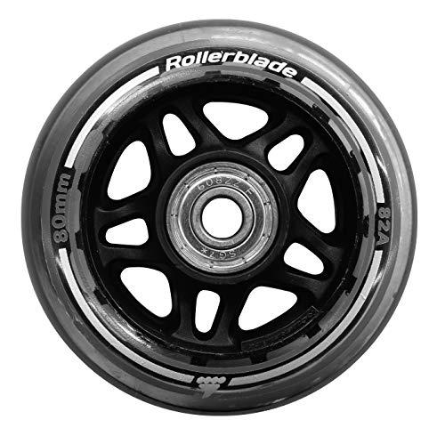 Rollerblade Unisex– Erwachsene 80/82A Pack+SG7+8MMSP (8PCS) Wheels, neutral, UNICA