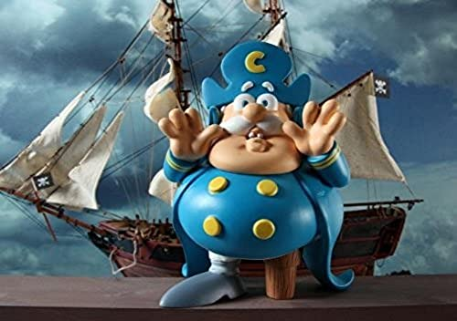 Cap'n (Captain) Cornstarch Vinyl Figure Ron English'