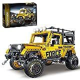 Tewerfitisme Juego de construcción para vehículos todoterreno, 1607 piezas, modelos SUV Off-Roader, bloques de construcción compatibles con Lego Technic