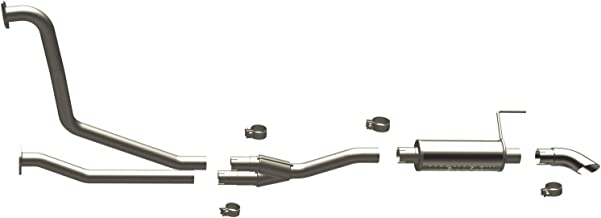 MagnaFlow 17109 Large Stainless Steel Performance Exhaust System Kit