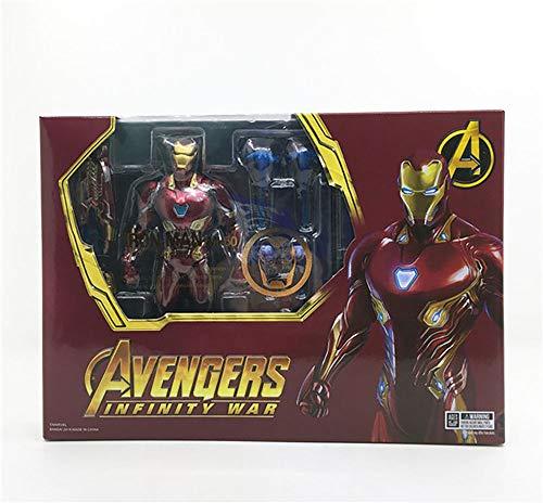 YXCC Figura de acción de Iron Man Estatua de Hombre de Hierro
