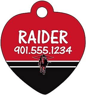 Texas Tech Red Raiders Personalized Dog Tag Cat Tag Pet Id Tag