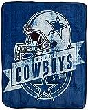 The Northwest Company NFL Dallas Cowboys 'Grand Stand' Raschel Throw Blanket, 50' x 60' , Blue