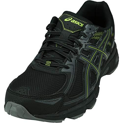 ASICS Men's Gel-Venture 6 Running Shoes, 10, Black/NEON Lime