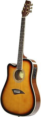 Kona K2LTSB Left-Handed Acoustic Electric Guitar