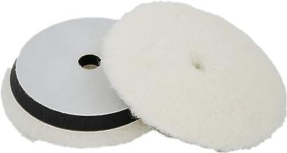 LIXIAONMKOP 1PC 7 '' Tapis de polissage en laine pour machine polisseuse cuisson de la machine de polissage de la voiture ...