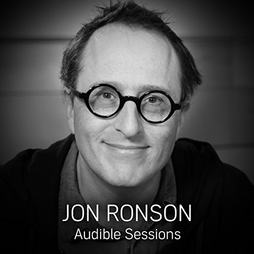 Jon Ronson audiobook cover art