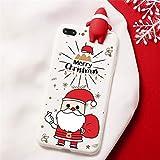 Ciervos de Dibujos Animados de Navidad Caso del iPhone para 12 Mini Pro 12 12 12 Pro MAX iPhone 11 Pro XS MAX SE 2020 2 Cubierta de Silicona XR X para el iPhone 6 7 8 6S más la Caja de os.