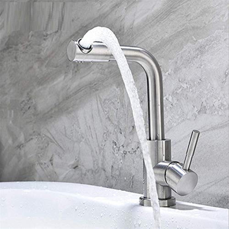 Moderner Hahn-Badezimmer-Hahnwaschbecken-Hahn-Badezimmer-Kabinett-Waschbecken-Mischer-Hahn 360 ° Drehung