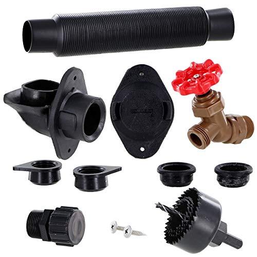 EarthMinded Rain Barrel Plastic Diverter Kit (Pack of 6)