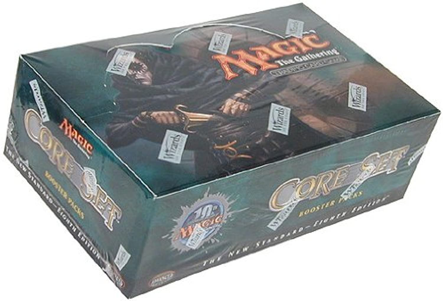 Magic Mtg 8th 8th 8th Eighth Edition Factory sealed 36 packs Booster Box  4e1c14