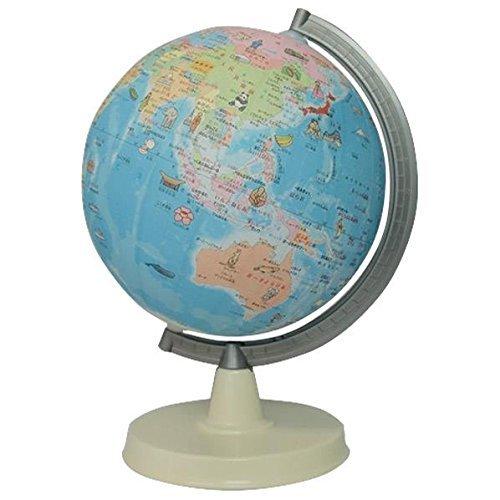 絵入りひらがな地球儀 21cm SHOWAGLOBES
