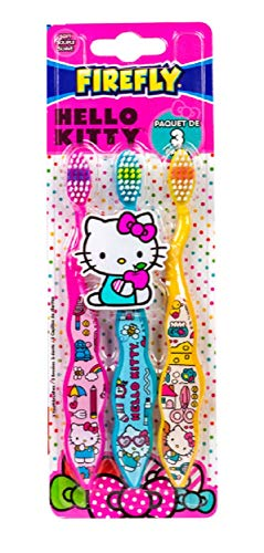 Hello Kitty Zahnbürsten-Set für Kinder, für ein gesundes und strahlendes Lächeln, für den Mund eines Kindes