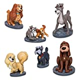 Figurine Disney Lady and The Tramp Figure Play Set of 6...