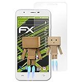 atFolix Bildschirmfolie kompatibel mit Oukitel U7 Pro Spiegelfolie, Spiegeleffekt FX Schutzfolie