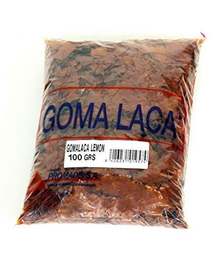 Promade - Goma Laca LEMON en escamas Promade (100 gr)