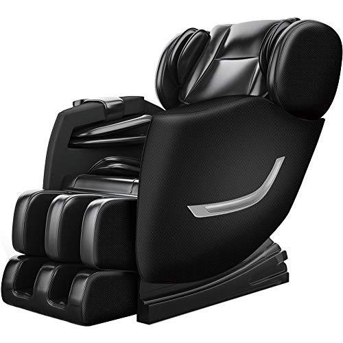 FOELRO Massage Chair Zero Gravity Full Body Shiatsu Recliner with Heating Back and Foot Rollers...