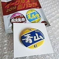 楽天イーグルス青山浩二2018 缶バッチ3点セット