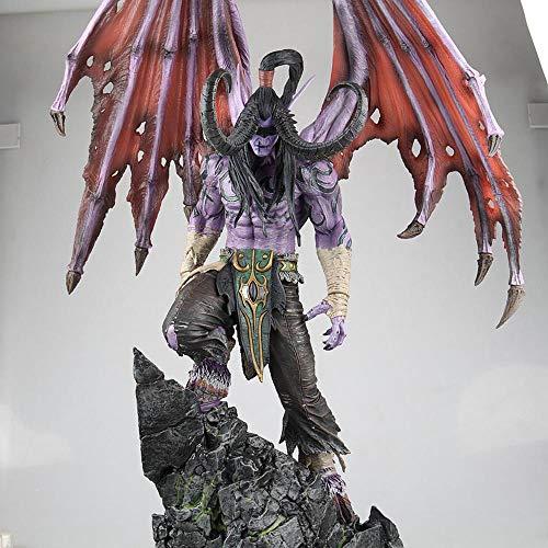 Wow Illidan Action Figure Kollektion Animierte Figur Modell Statue Dekoration Geschenk 57CM -Figuren Hand. -Figuren Hand.