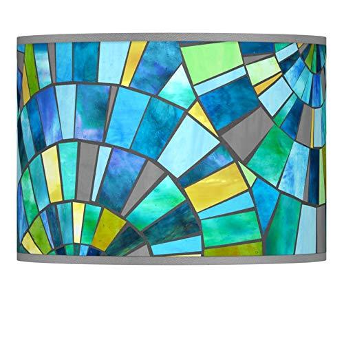 Lagos Mosaic Giclee Lamp Shade 13.5x13.5x10 (Spider) - Giclee Glow