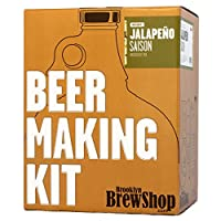Brooklyn Brew Shop Beer Making Kit, Jalapeno Saison by Brooklyn Brew Shop