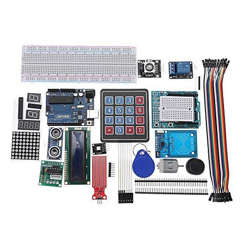 LYFEI R3 - UNO R3 Versuchsaufbau und Halter Schritt Motor/Servo / 1602 LCD/Jumper Wire/UNO R3 Starter Kits for Arduino UNO Experimentelles Modul