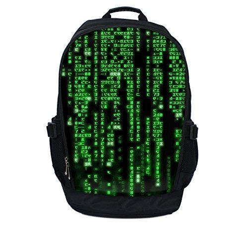Luxburg   17  Mochila para Ordenador portátil: Código Matrix