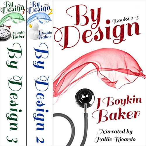 By Design Trilogy audiobook cover art