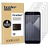 iVoler [4 Pack] Pellicola Vetro Temperato per Xiaomi Redmi Note 5A / Xiaomi Redmi Note 5A Prime, Pellicola Protettiva, Protezione per Schermo