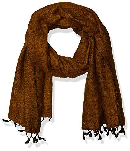 Bufanda/Wrap–100% comercio justo–Chal de lana sintética de Yak de Nepal