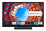 Toshiba 32LK3C63DA 32 Zoll Fernseher (Full HD, Smart TV, Prime Video / Netflix, Alexa Built-In, Bluetooth, WLAN, Triple Tuner), schwarz