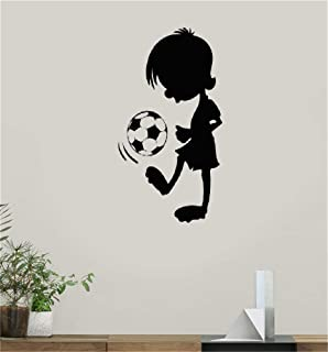 paecui Wall Quotes Decal Wall Stickers Art Decor Soccer Kid for Teen's Room Stickers for Nursery Kid Room