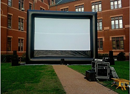 Boshi Electronic Instrument® 7×5m Portable Inflatable Movie Screen Advertisement Screen Outdoor Cinema