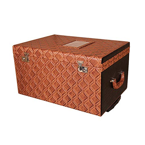 Maleta caja organizador maletero estilo vintage, vehículos viajan en forma ordenada Caja...