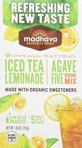 Madhava AgaveFive Getränk Mischung Eistee Limonade 1.04 oz