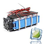 Thermoelectric Peltier Cooler Fan 12V 8-Chip DIY Air Water Cooling Devices TEC1-12706 Refrigeration Cooling System Kit
