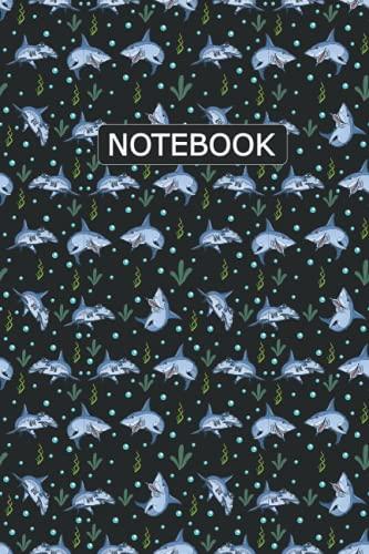 Hammerhead Shark Notebook: Hammerhead Shark Pattern Sketching, Sketch Drawing, Notebook For Men, Women, Girls, Boys And Kids