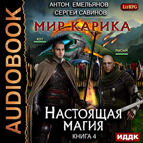 Мир Карика 4. Настоящая магия [The World of Karik IV: Real Magic] audiobook cover art