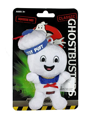 Ghostbusters Mini 4 inch Talking and Smiling Stay Puft Marshmallow Man Plush by Underground Toys LTD