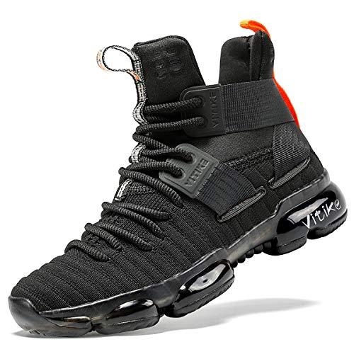 Dziecięce trampki chłopcy buty do koszykówki dziewczęce buty do biegania wysoka góra gimnastyka buty dla dzieci unisex