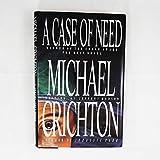 A Case of Need - Michael Crichton