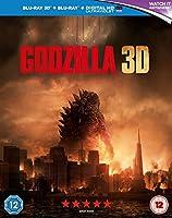 Godzilla 3D [Blu-ray - Blu-ray 3D] [2014]