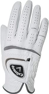 callaway premium cabretta golf gloves 3 pack high quality golfing gloves (large, left hand)