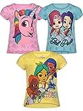 Rainbow Rangers Toddler Girls' 3 Pack Fashion T-Shirts Short-Sleeve 3T Rainbow