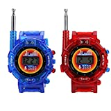 Zerodis. Walkie Talkie, 2PCS Digital Wrist Watch Military Intercom Set Kids Parent Interaction Long Range...