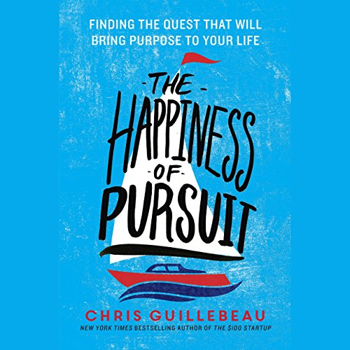 The Happiness of Pursuit audiobook cover art