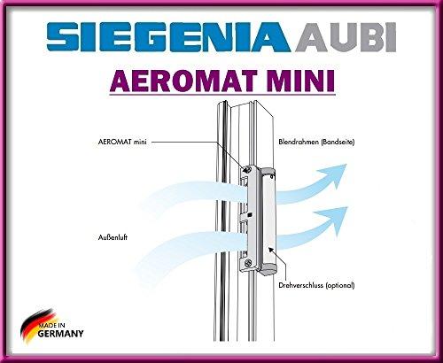 AEROMAT mini mit Drehverschluss mit Schrauben von Siegenia!!! Gesunde luft!!!