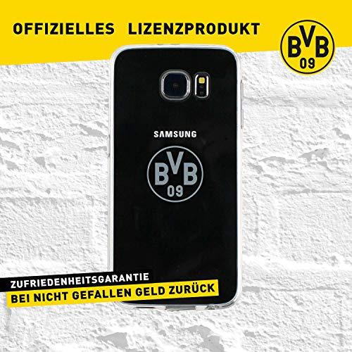 Borussia Dortmund BVB-Backclip für Samsung Galaxy S6 (transparent) one Size