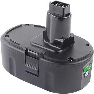 Jialitt 5.0Ah DC9096 Lithium-ion Battery Replace Dewalt 18V Battery XRP DC9098 DC9099 DE9039 DE9095 DE9096 DE9098 DW9095 DW9096 DW9098 DE9503 DC9182