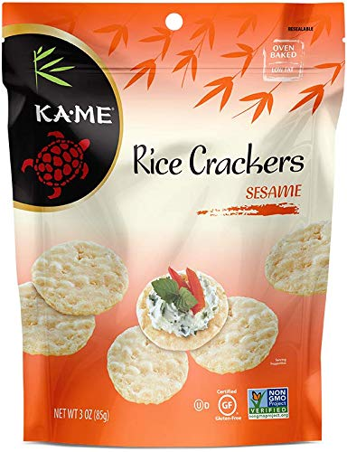 Ka-Me Gluten-Free Ranking TOP1 Rice Crackers 3.0 Ranking TOP18 Oz. 6 Pouches Pack 400402